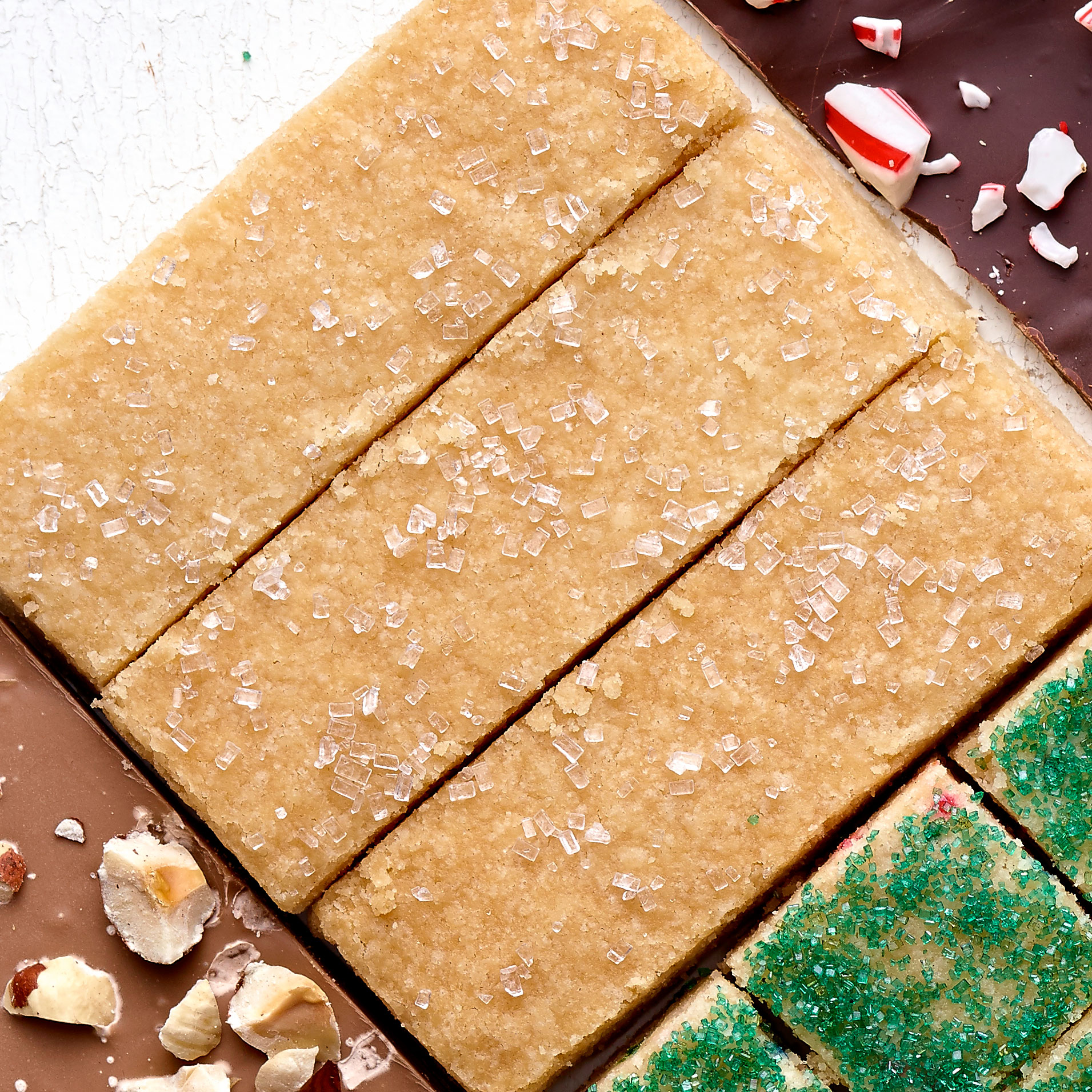 Sheet Pan Scottish Shortbread Recipe Sunset Magazine