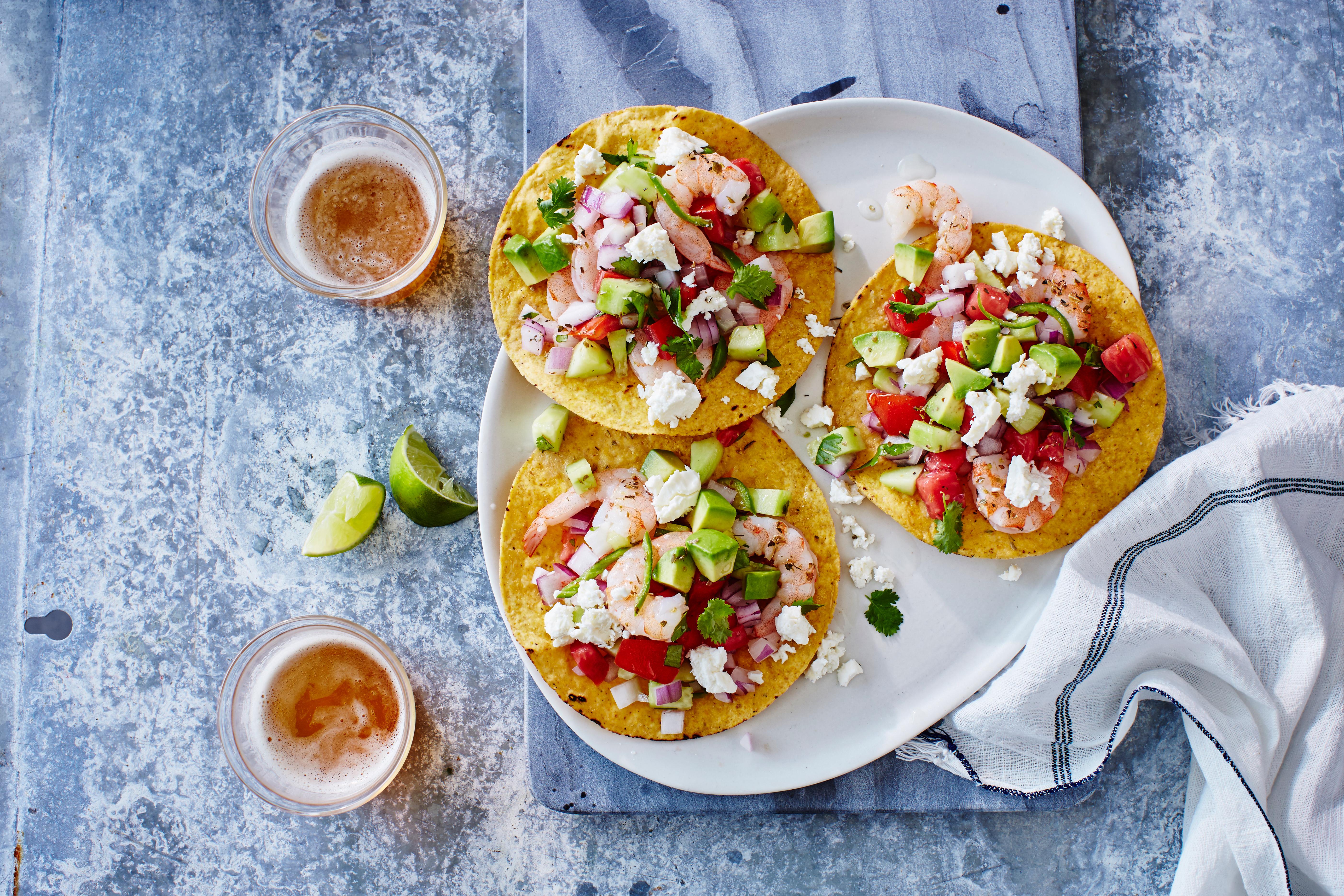 "su-Shrimp ""Ceviche"" Tostadas"