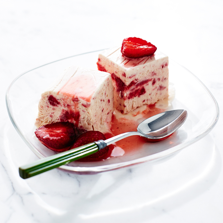 su-Strawberry Semifreddo Image