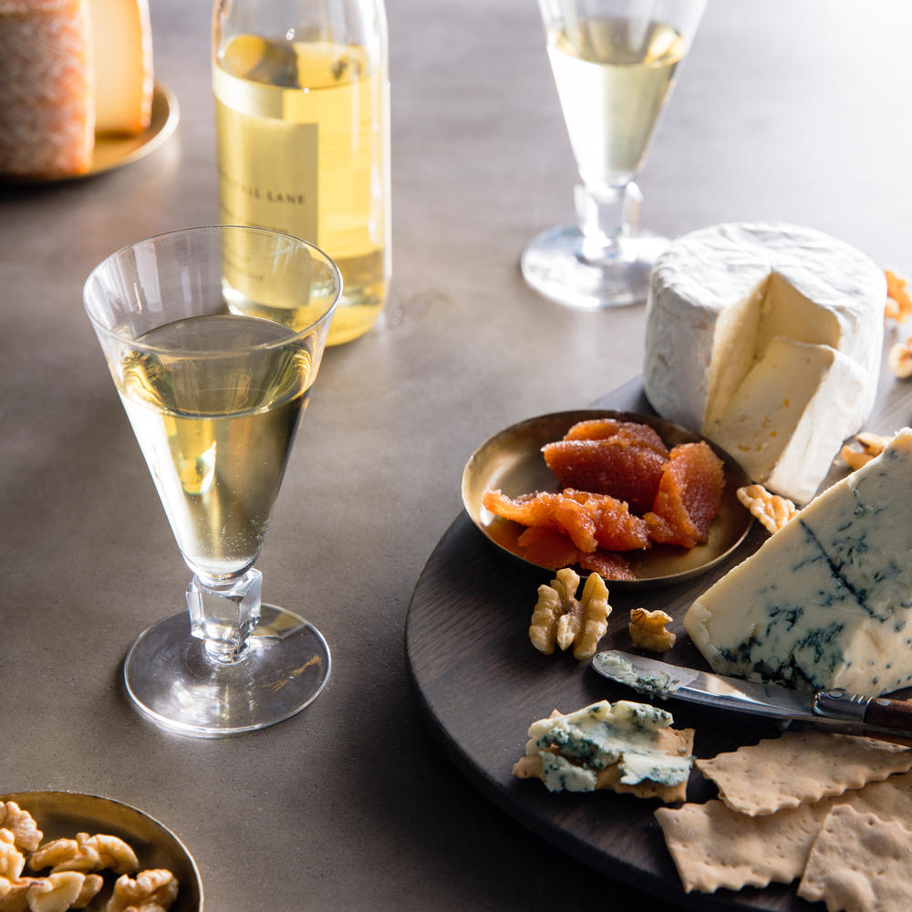 Dessert Wines with Cheeses
