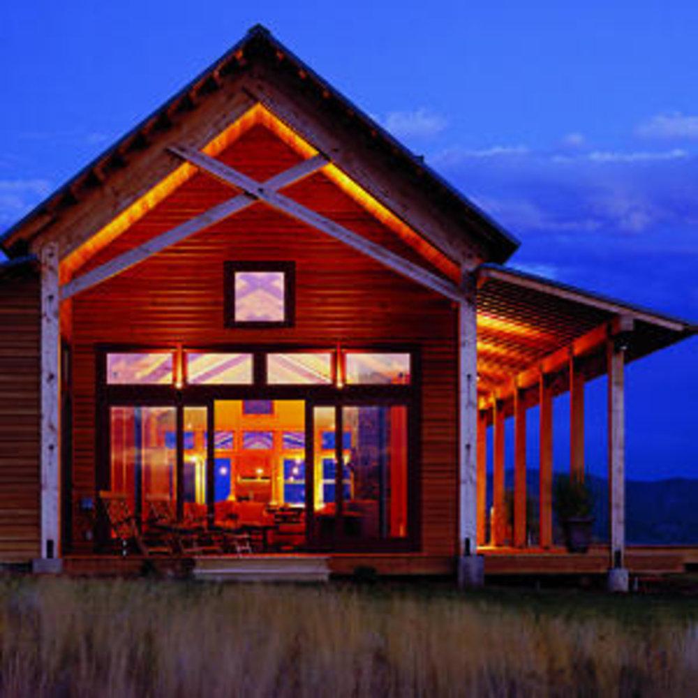 Western home awards sunset magazine for Sunset magazine house plans