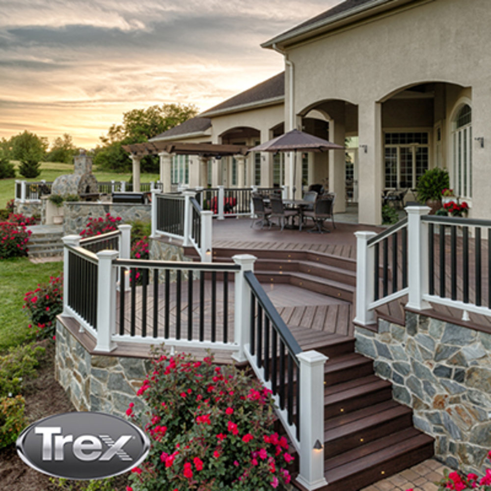 Blueprints For Patio Decks: 10 Decked Out Designs With Trex