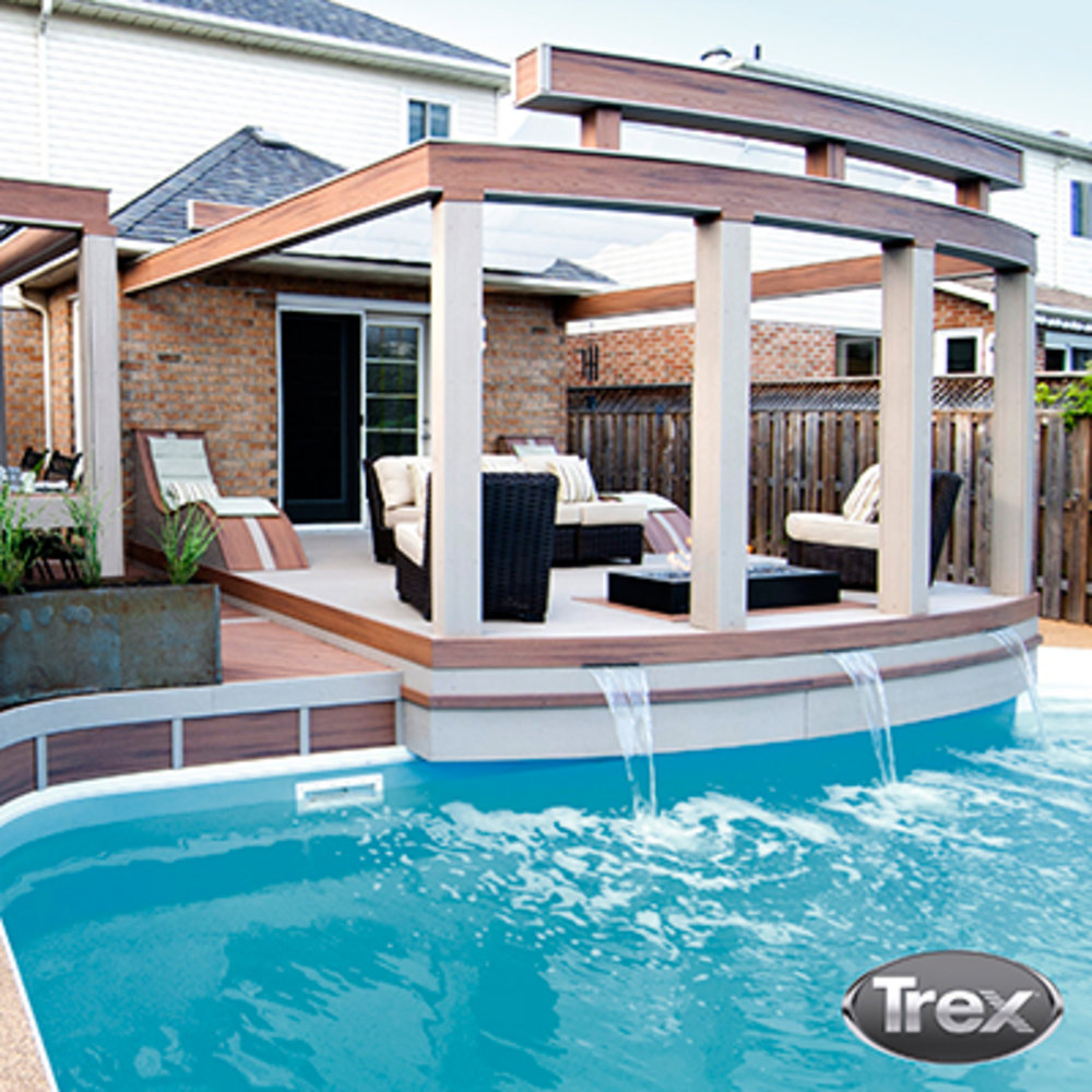 10 Ways To Create A Backyard Oasis: 10 Decked Out Designs With Trex