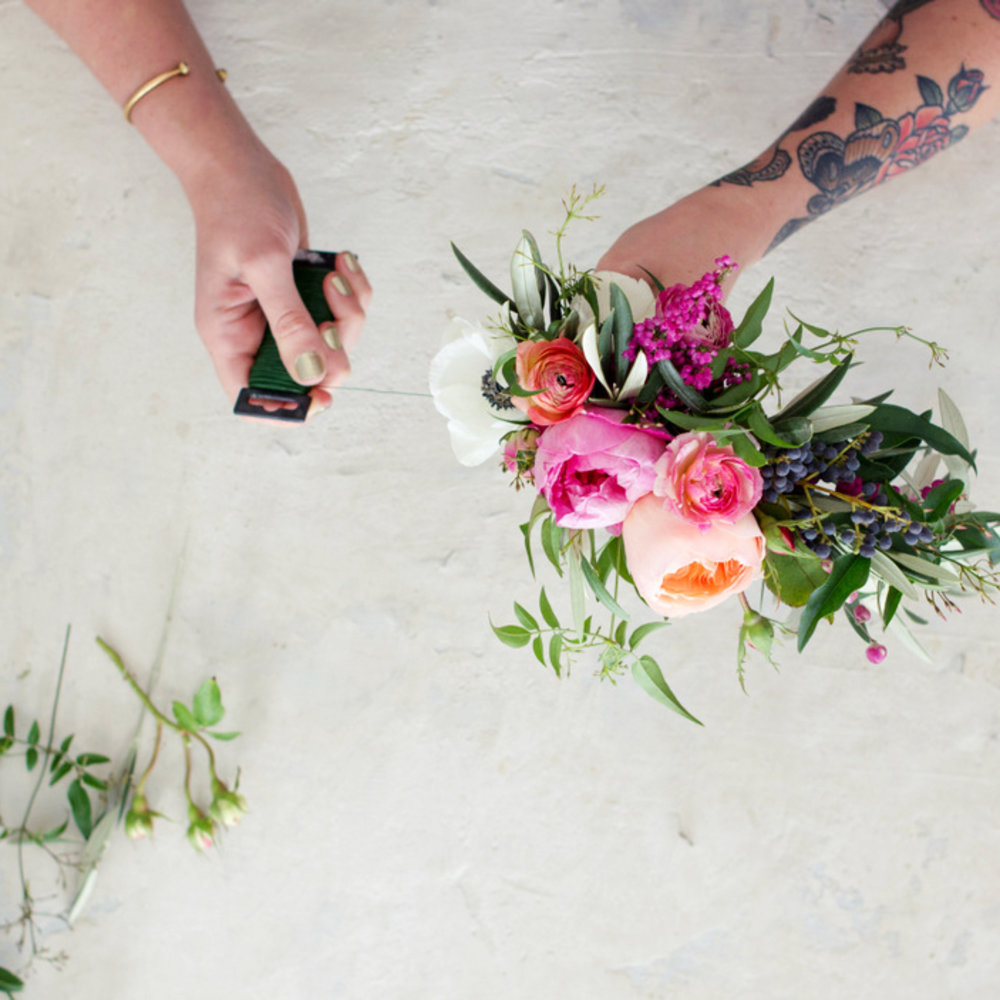 Step by step the ultimate diy flower crown sunset magazine create a focal point izmirmasajfo Gallery