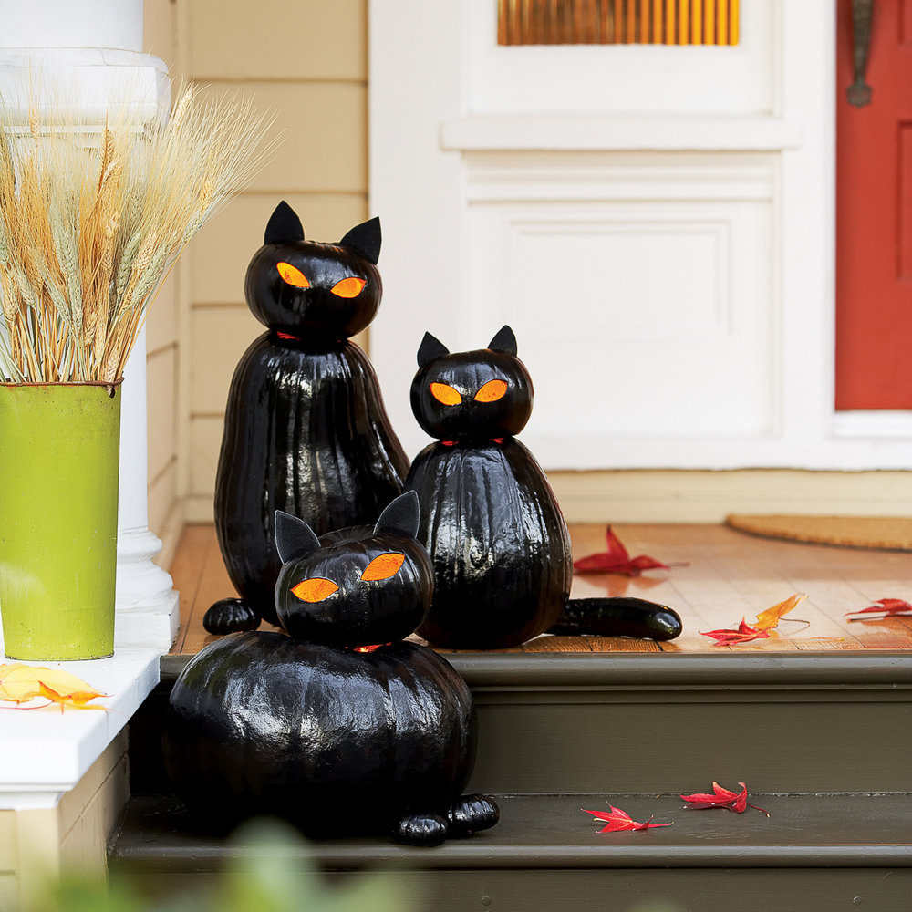 Exceptional Black Cat Ou0027lanterns