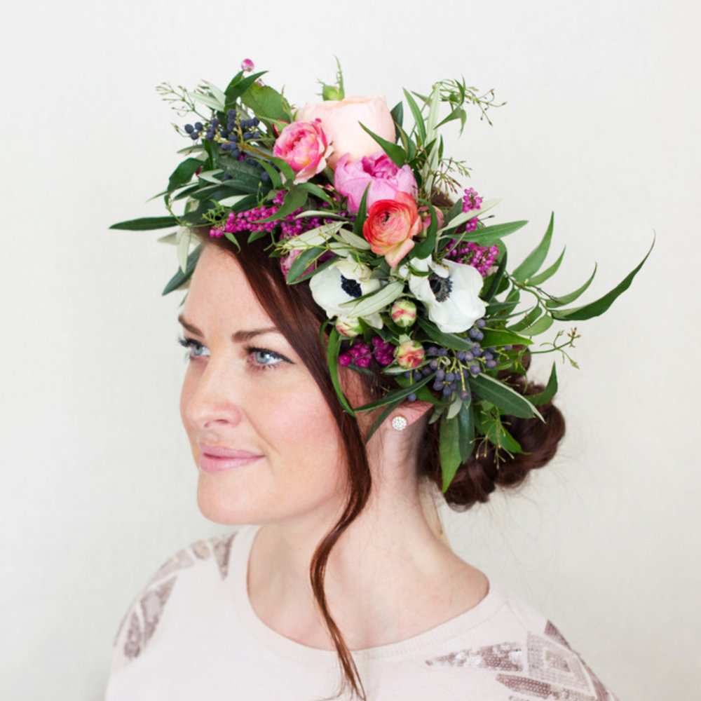How To Make A Flower Crown Sunset Magazine