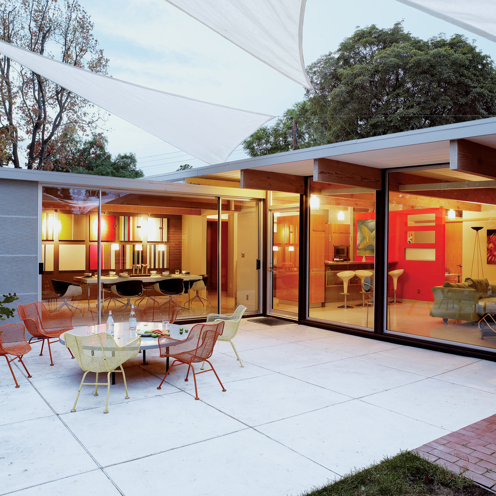 A 1950s Eichler Home Gets A Seamless Update Sunset Magazine