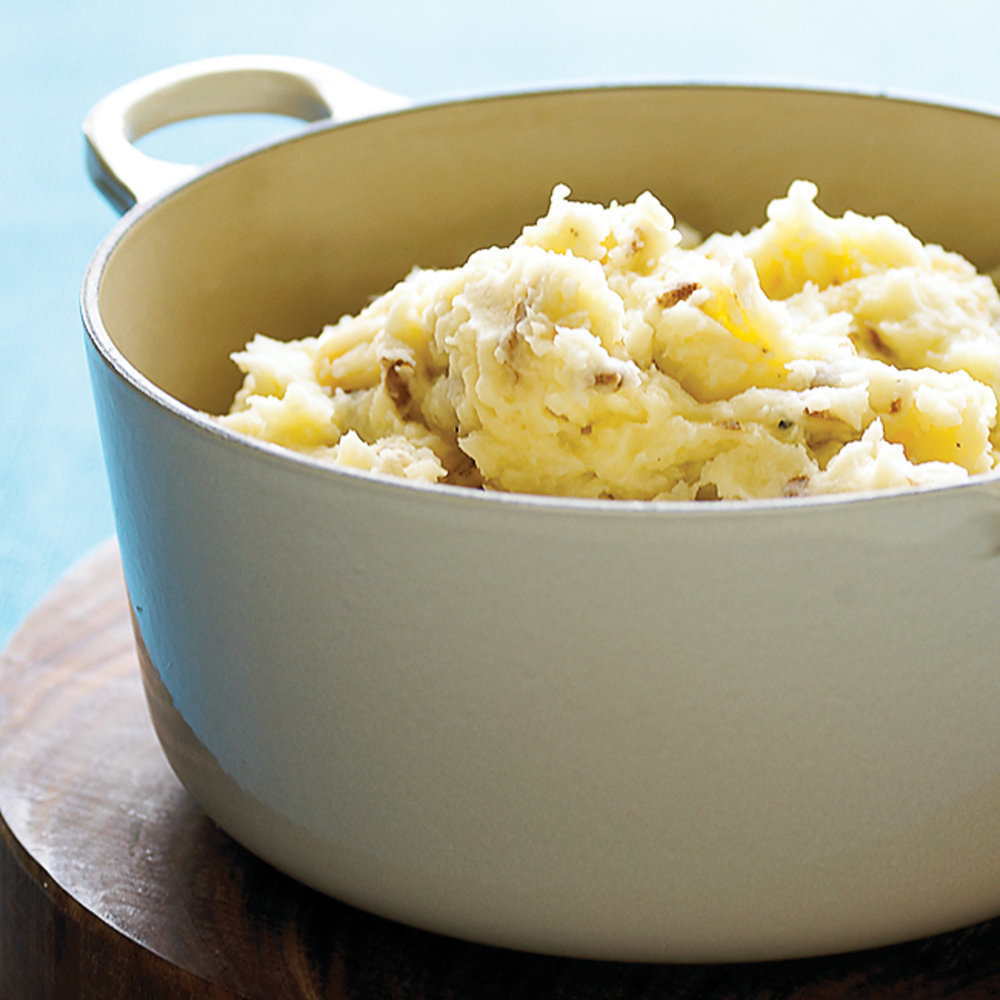 Food  Mashed Potato Celery Root Recipe