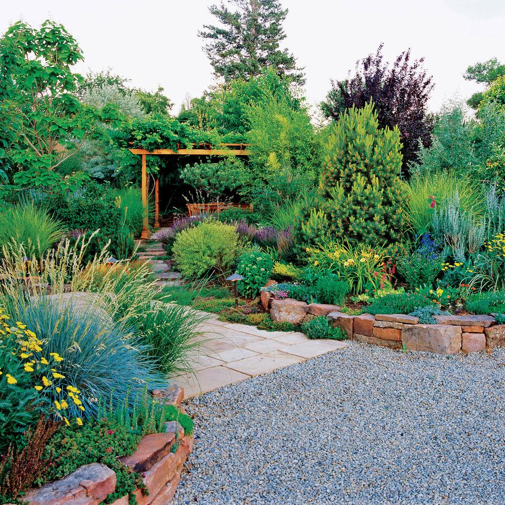 Low Water Santa Fe Garden