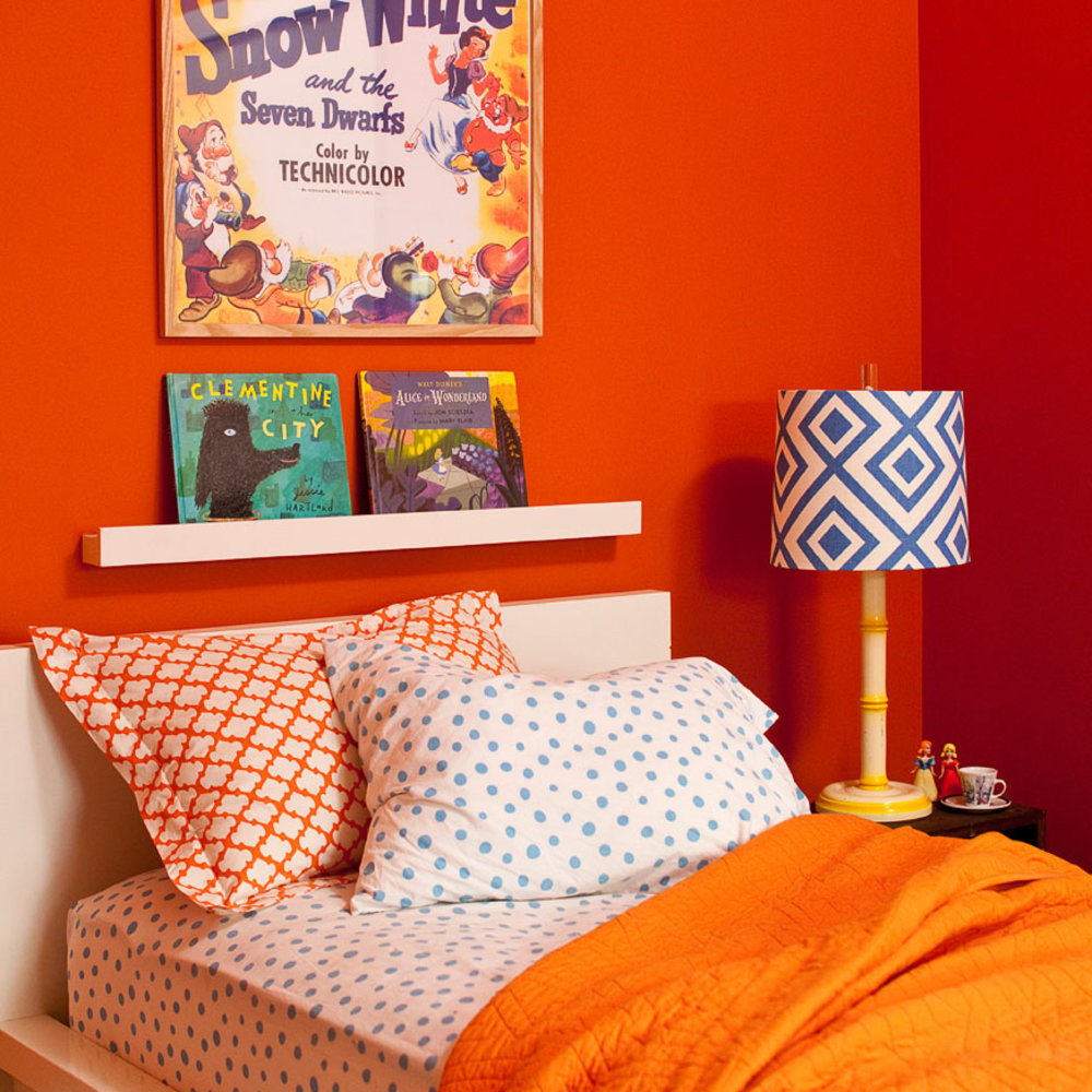 Decorating with Orange - Sunset Magazine