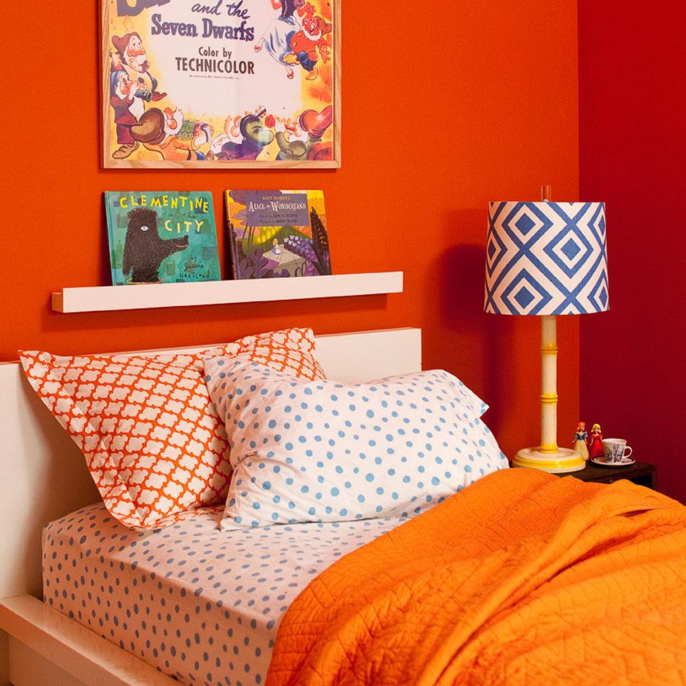 Orange Kids Room: 26 Kids' Bedroom Designs