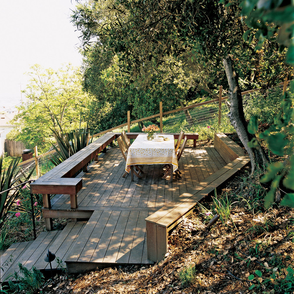 Three Ways To Conquer A Steep Backyard