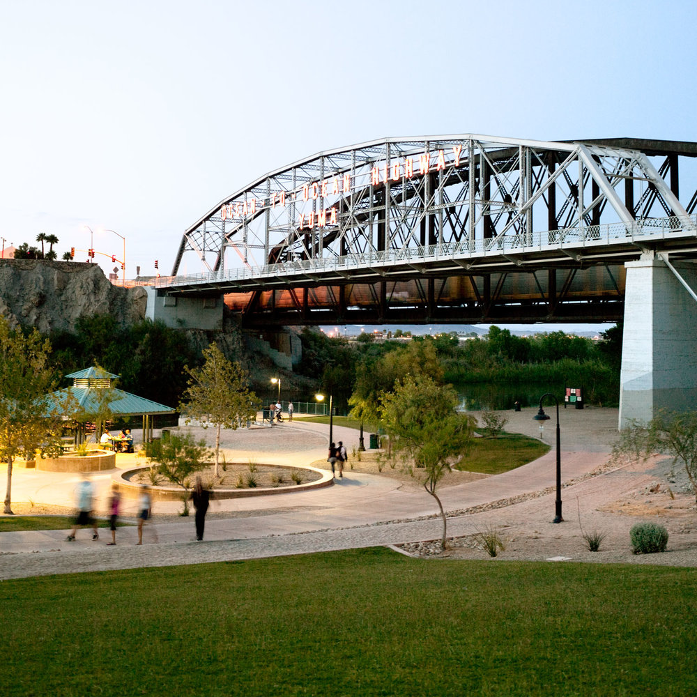 Yuma Waterfront Bridge