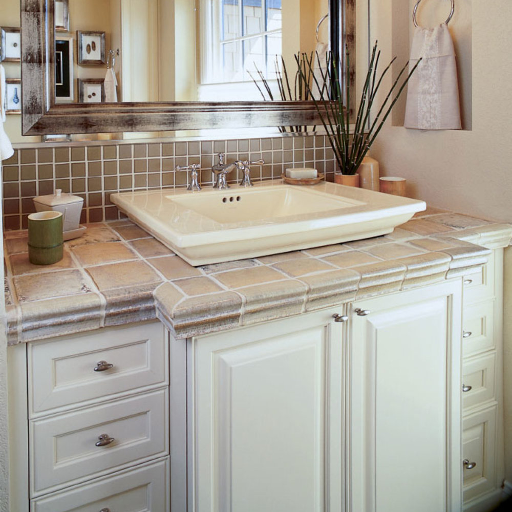 Repaint Vanity Cabinets