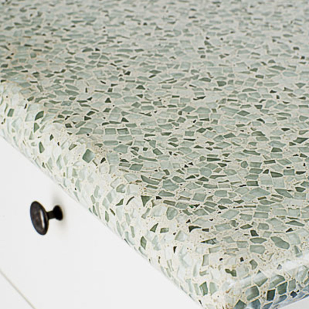 Recycled Glass Kitchen Countertops Eco-Friendly Kitchen Countertops
