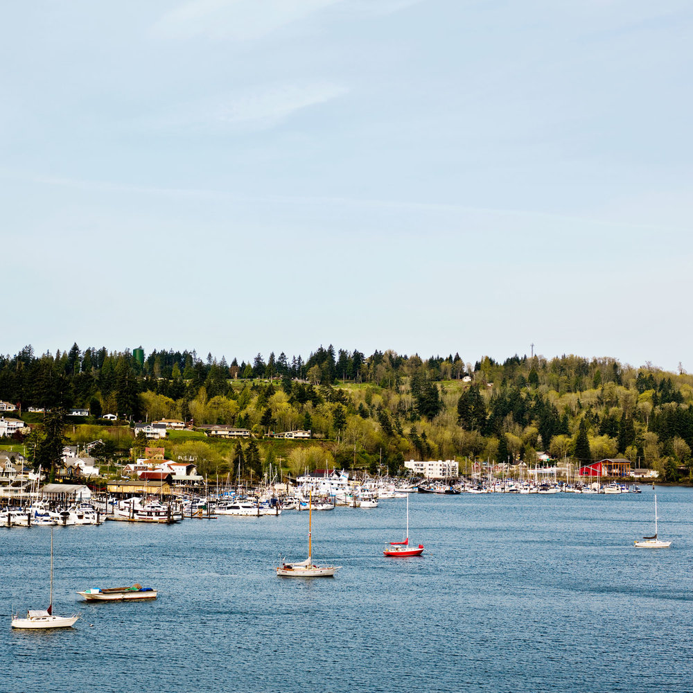 Raise your sail in Gig Harbor, WA