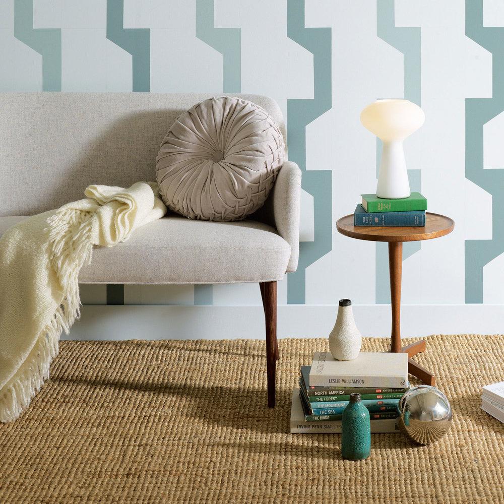 Stylish Geometric Paint Patterns Cool Palette