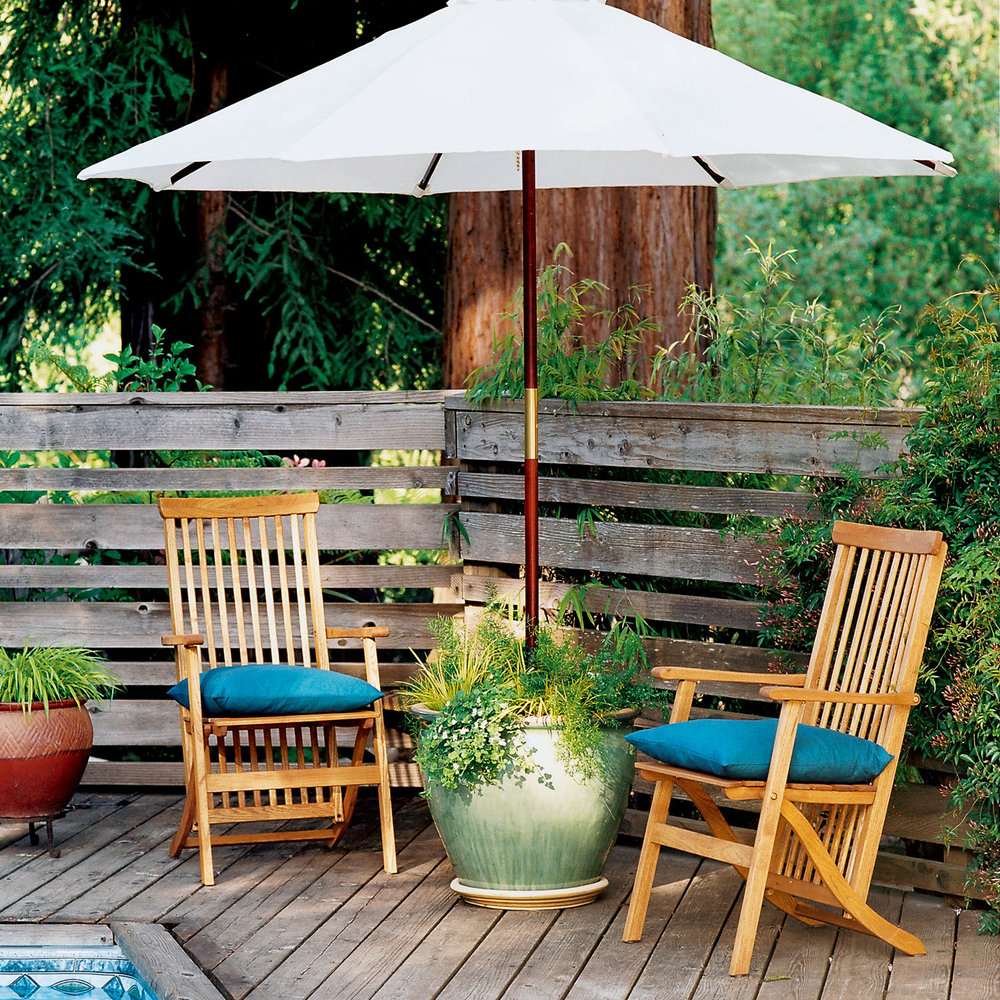 Planter Umbrella Stand Sunset Magazine