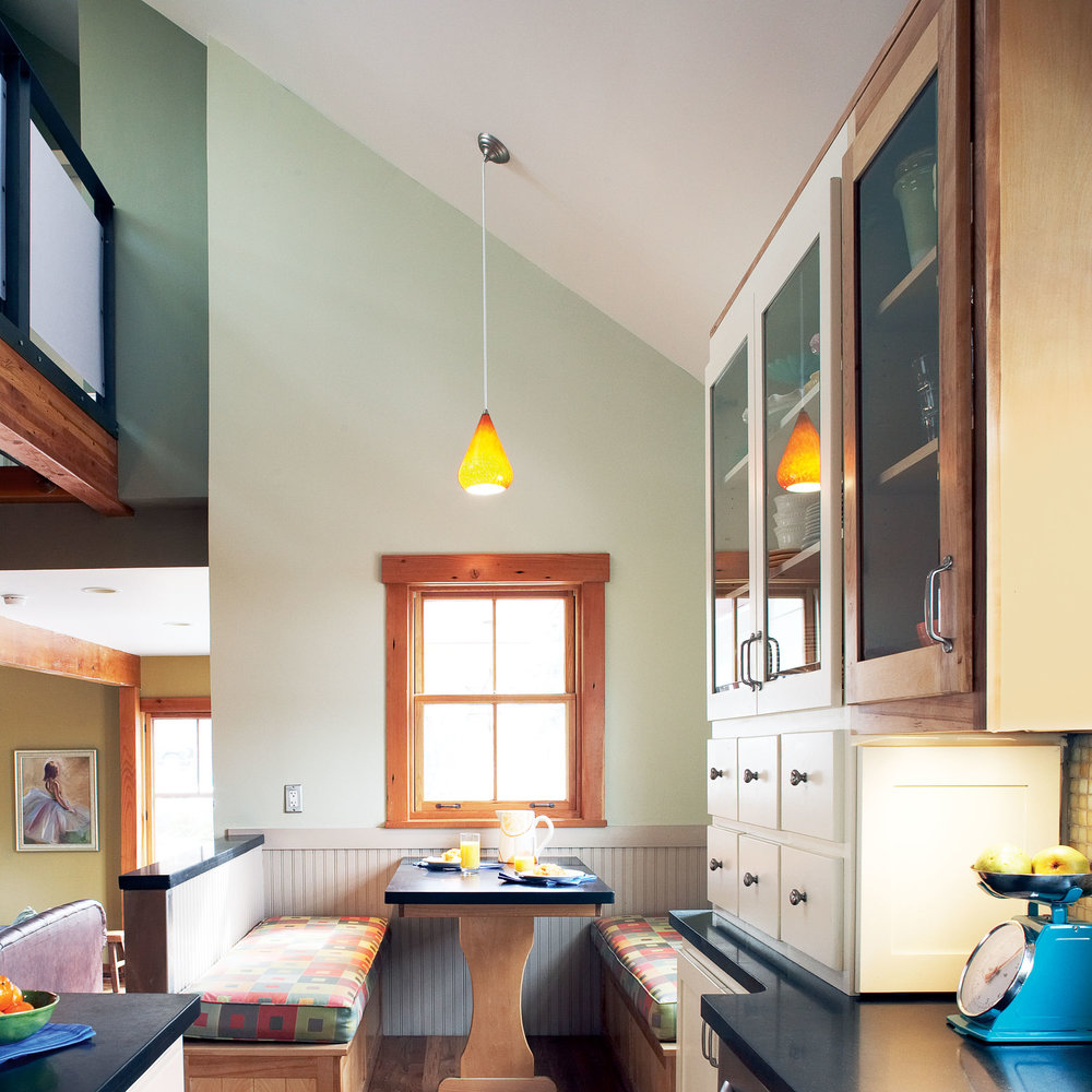 After: Family-friendly kitchen