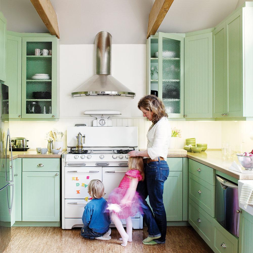 Tiny house, big kitchen - Sunset Magazine