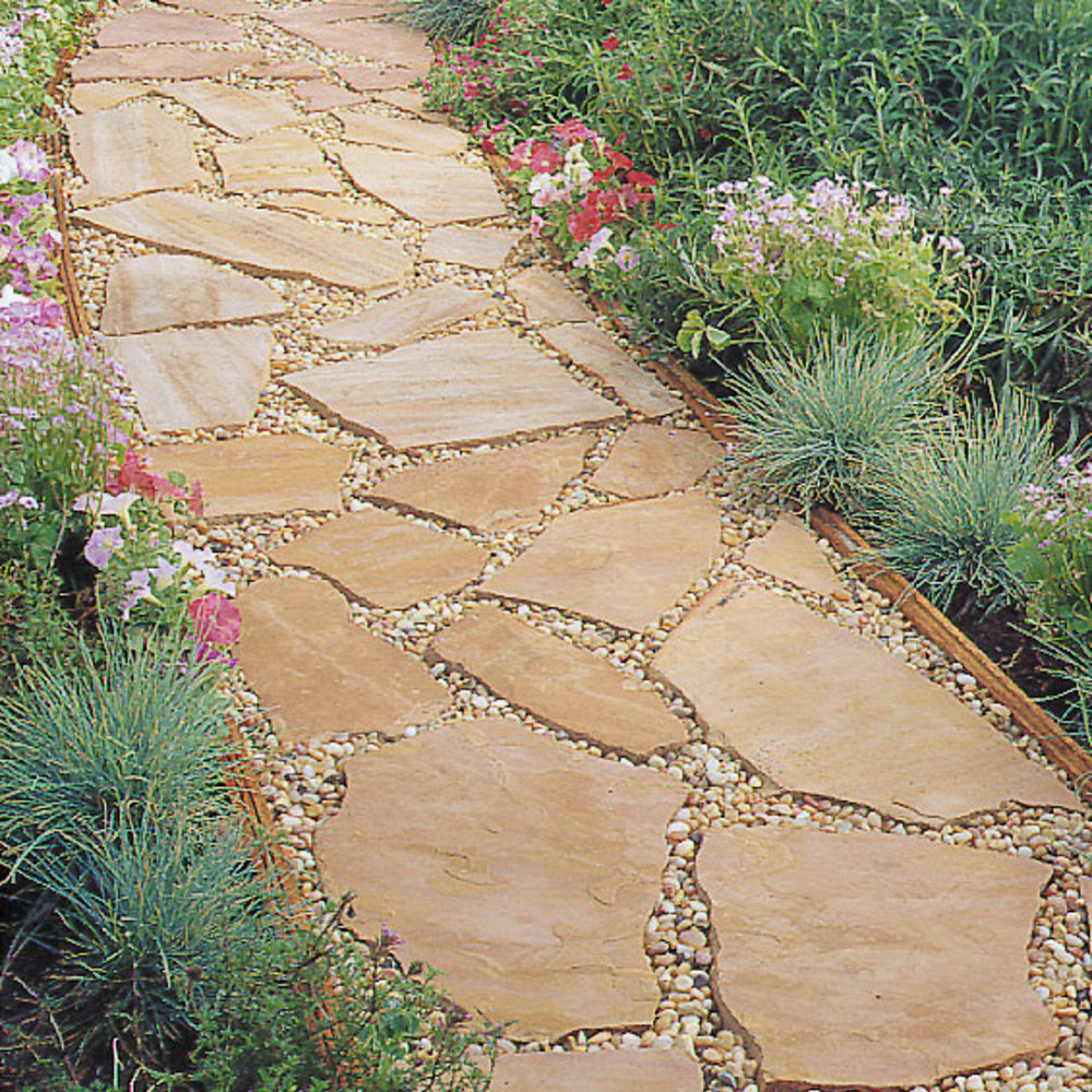 Installing a flagstone path sunset magazine solutioingenieria