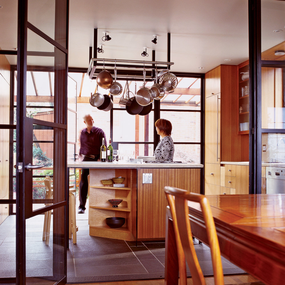 Jewel box kitchen