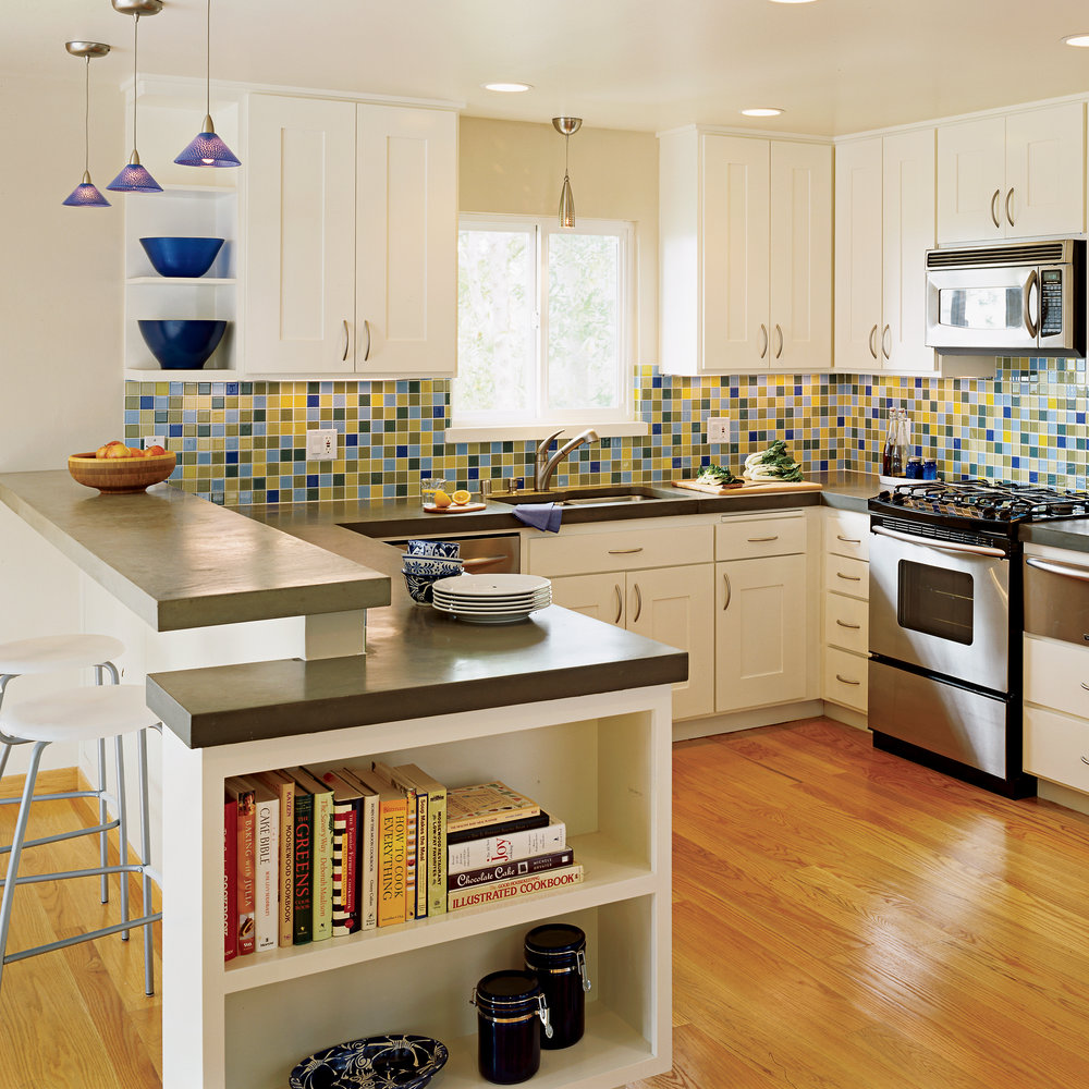 After: Fresh And Colorful Kitchen Redesign