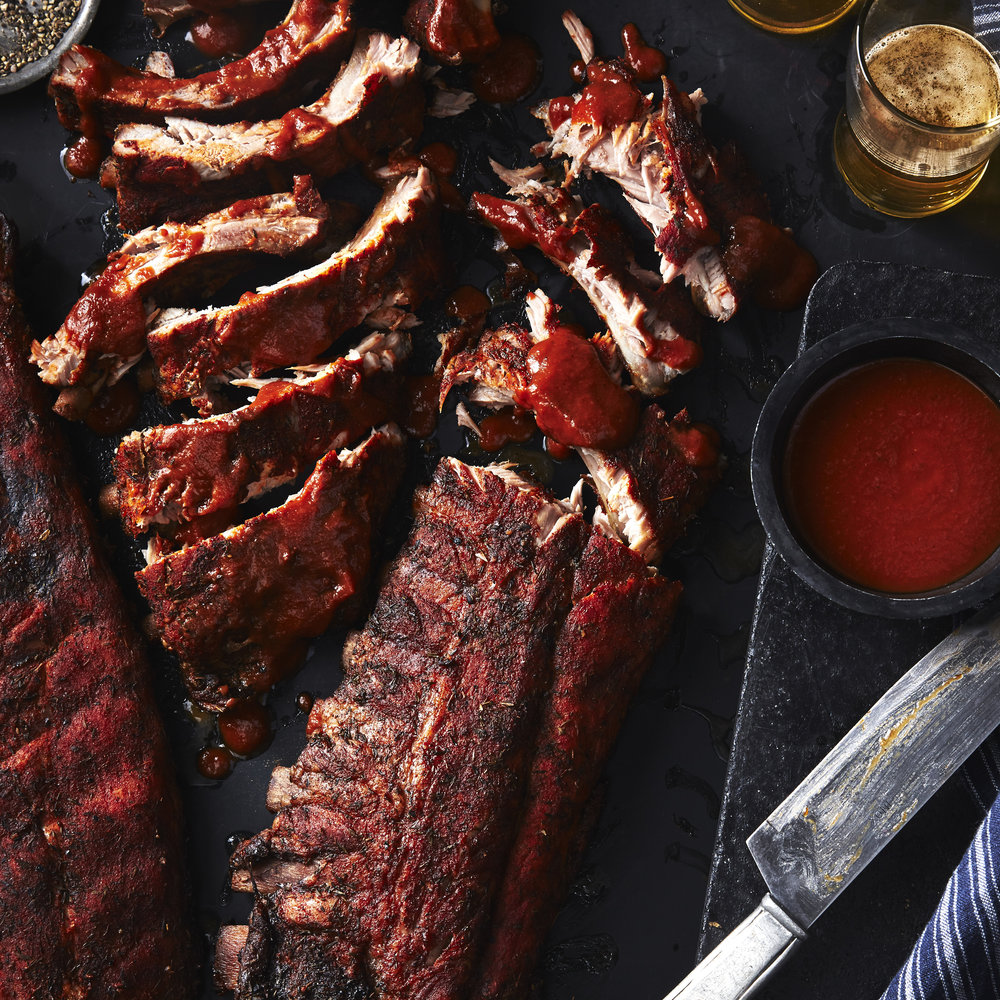 Herb-Rubbed Baby Back Ribs