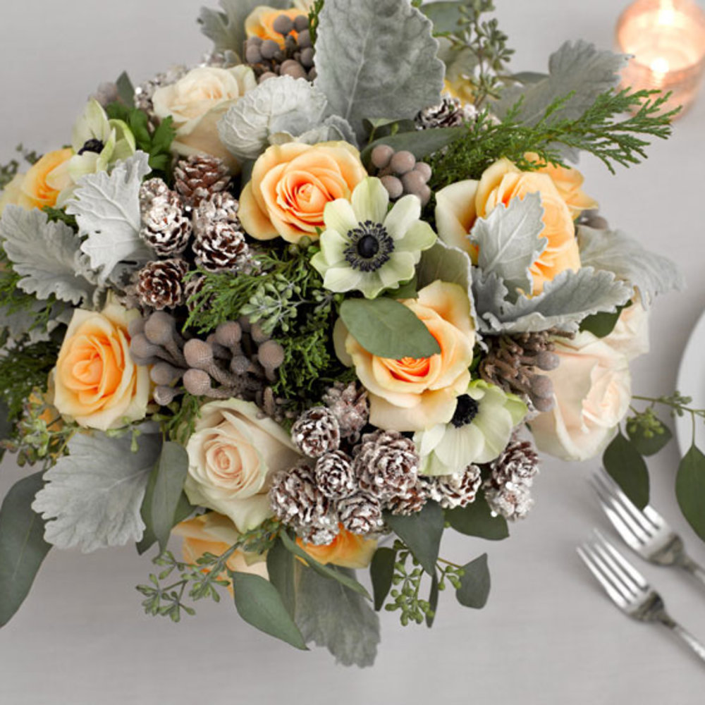 winter wedding flower arrangements tips for even better winter flower arrangements sunset 1444