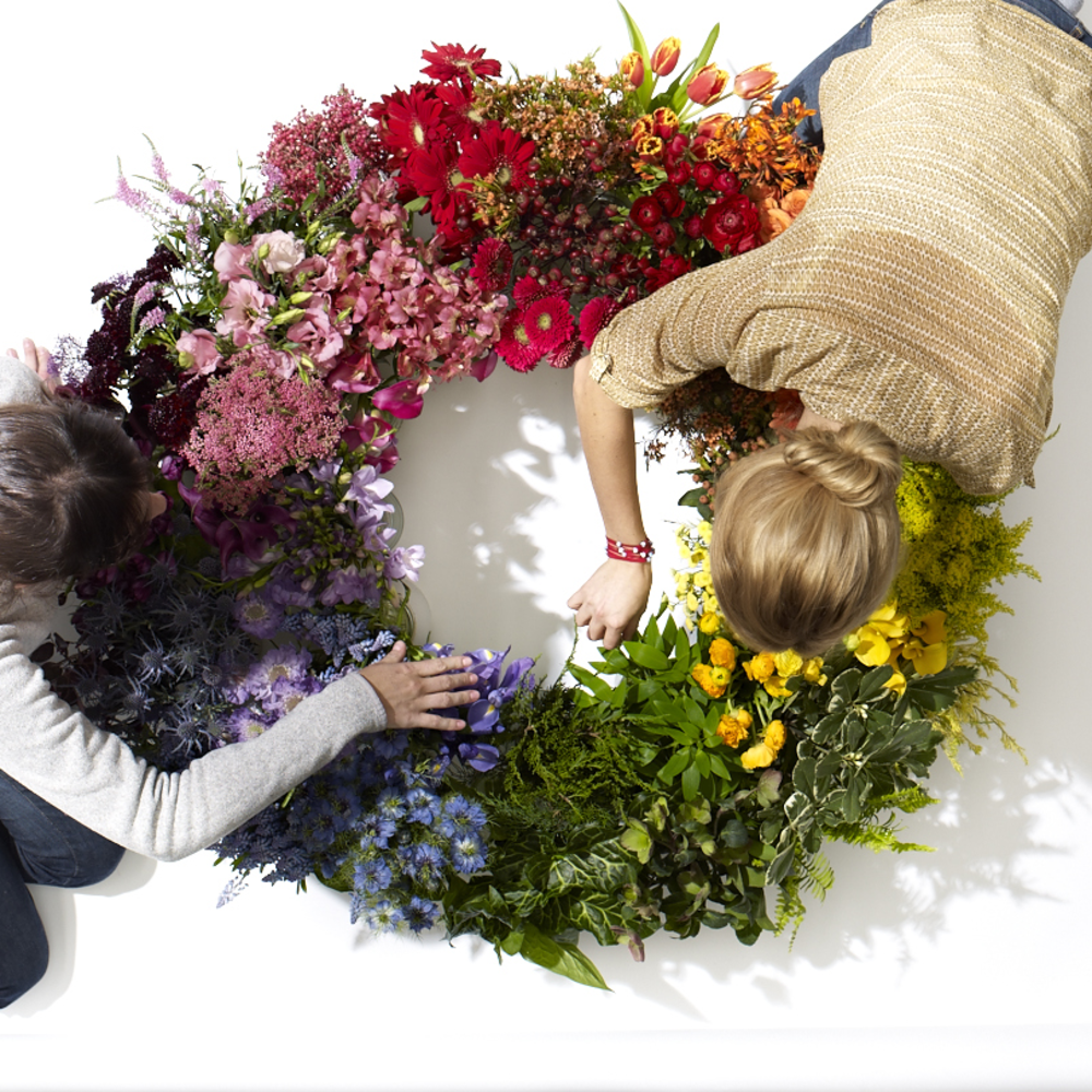 Floral Design From The Color Wheel Sunset Magazine