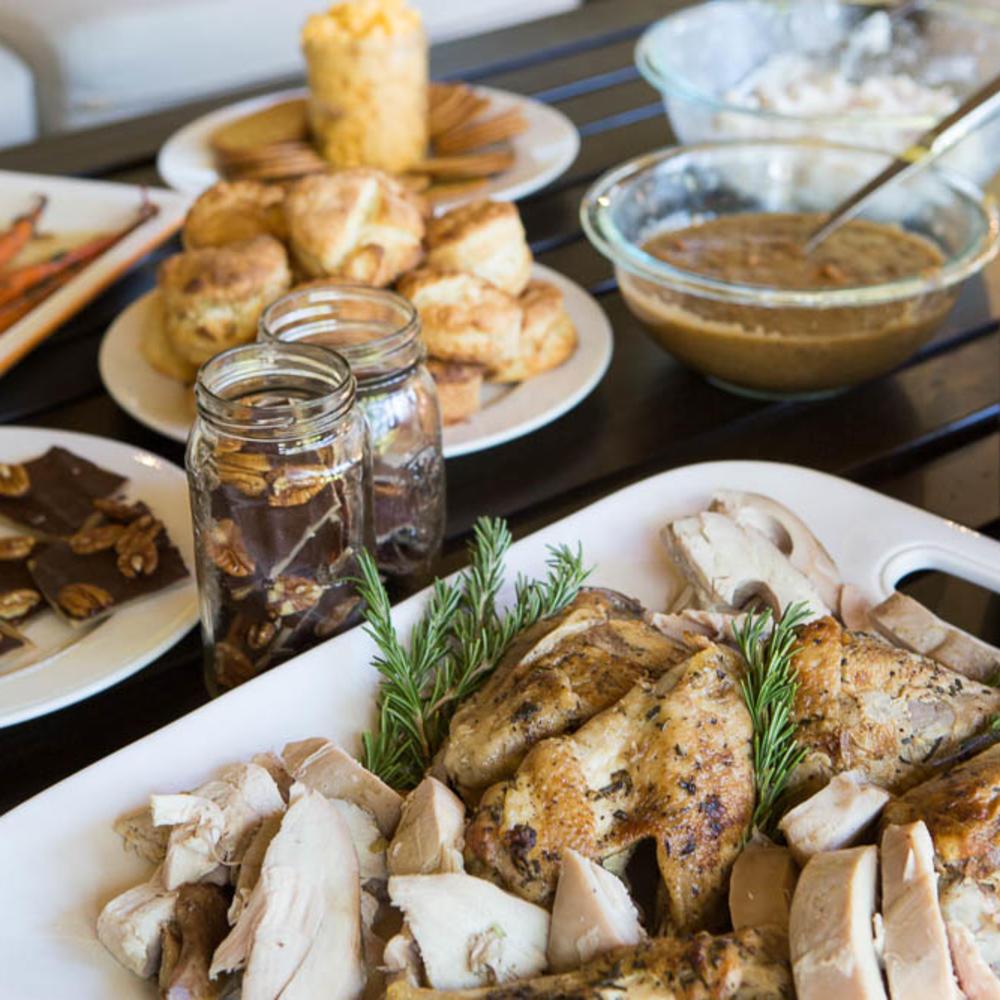 Comfort Food Wedding Menu: Thanksgiving Comfort Food