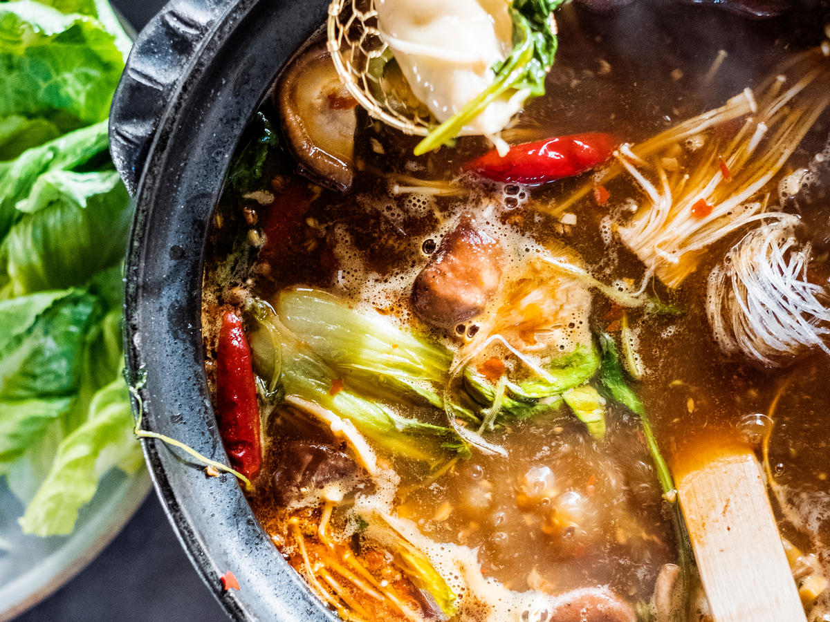 Spicy Sichuan Broth