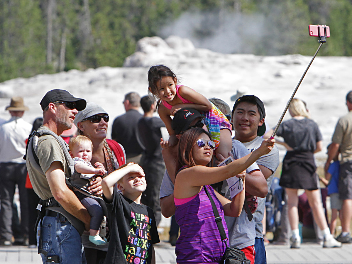 Yellowstone Doesn't Want Tourists Endangering Wildlife — or Themselves — with Selfies