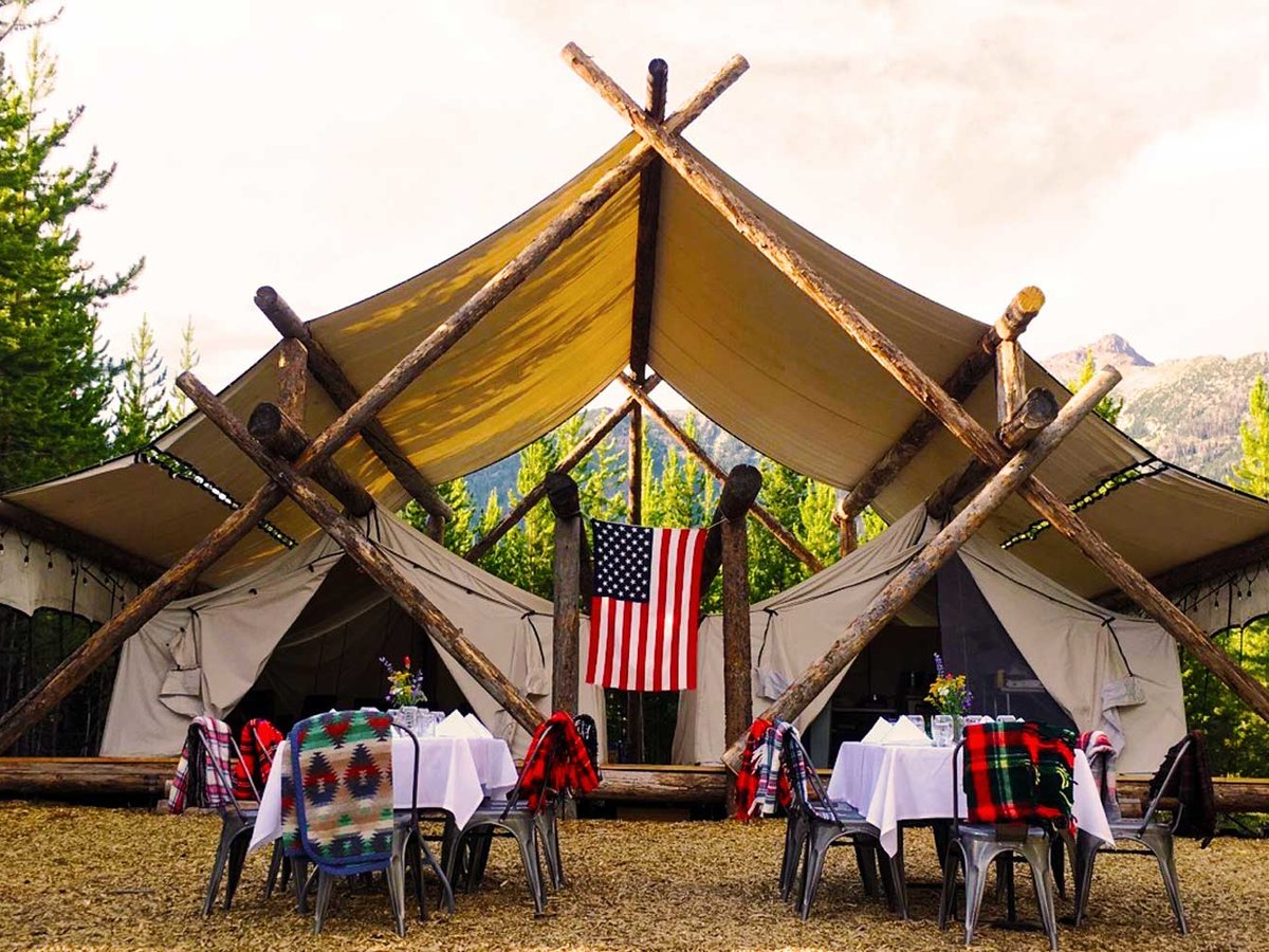 Go Glamping near Yellowstone with Lakeside Teepees and a Personal Chef