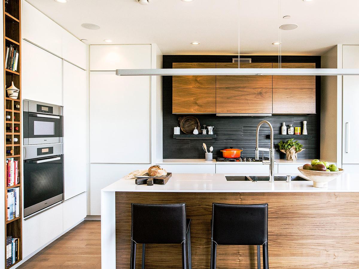 Rice and De Tienne Designs modern kitchen