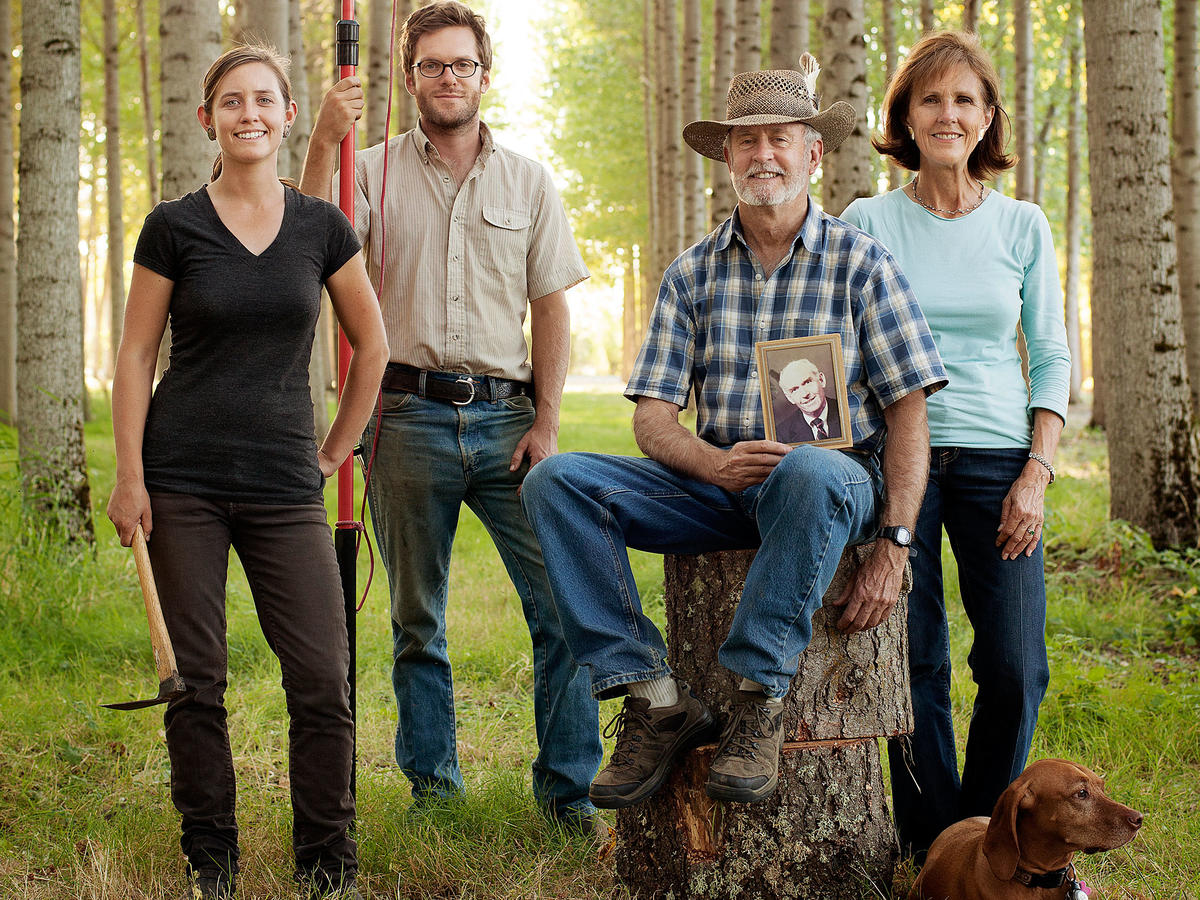 Minto Island Growers Miller family