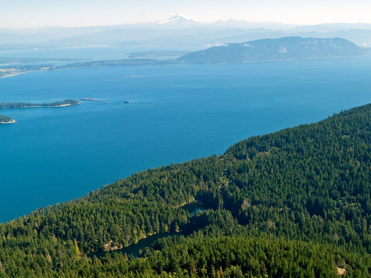 Explore nature in San Juan Islands, WA