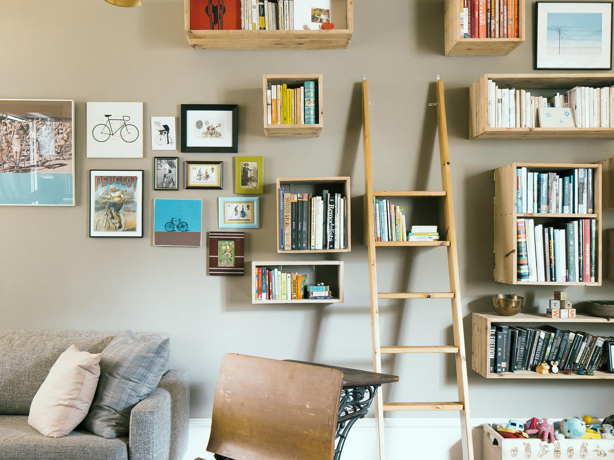 Great Shelf Ideas - Sunset Magazine
