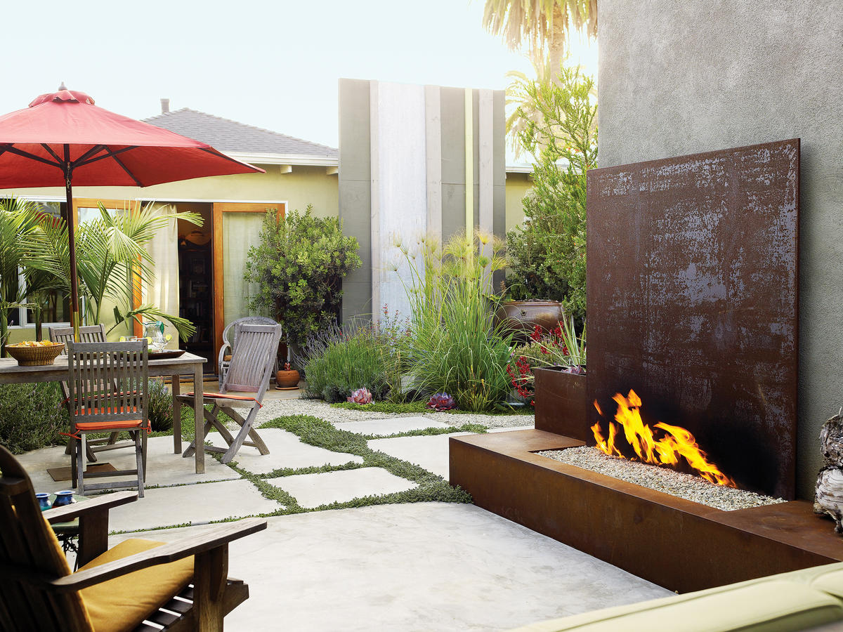 Landscaping Ideas With Stone Sunset Magazine