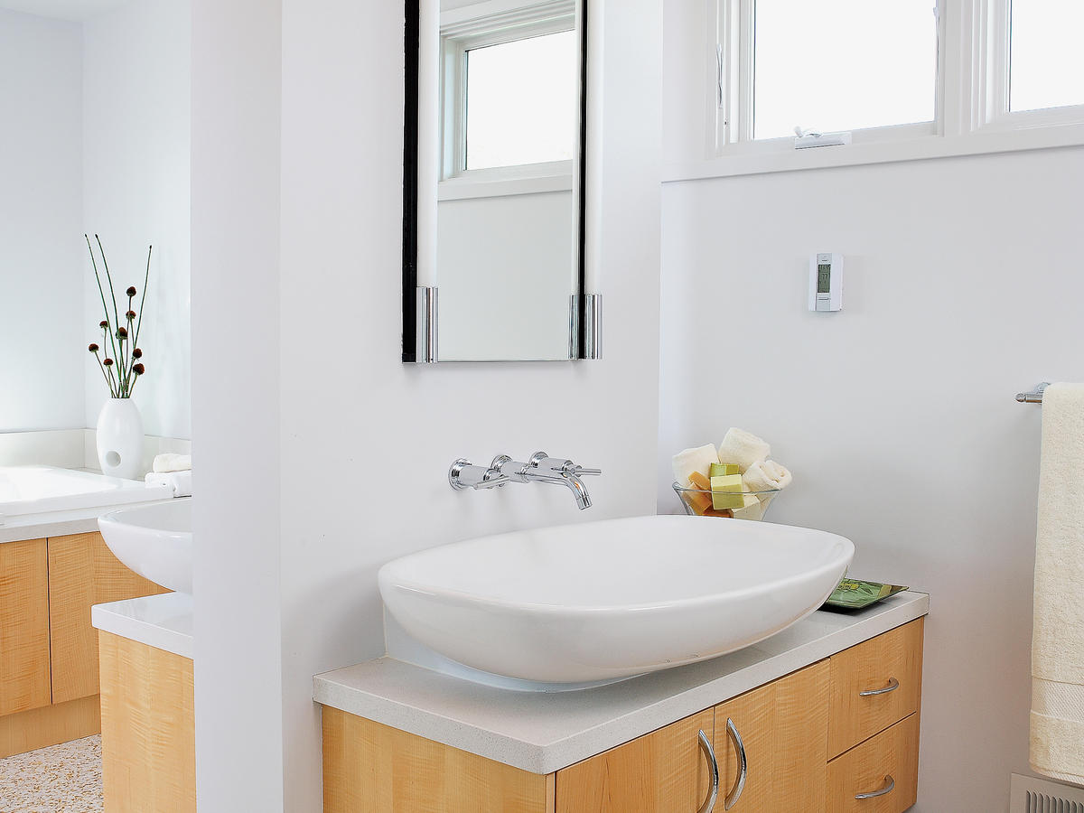 Bathroom Vanity Counter Sink Ideas Sunset Magazine