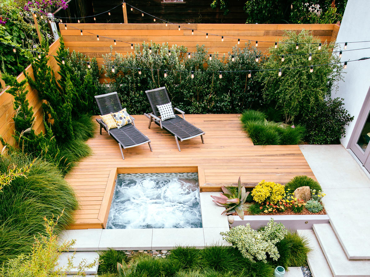 Backyard Deck Sunset Magazine