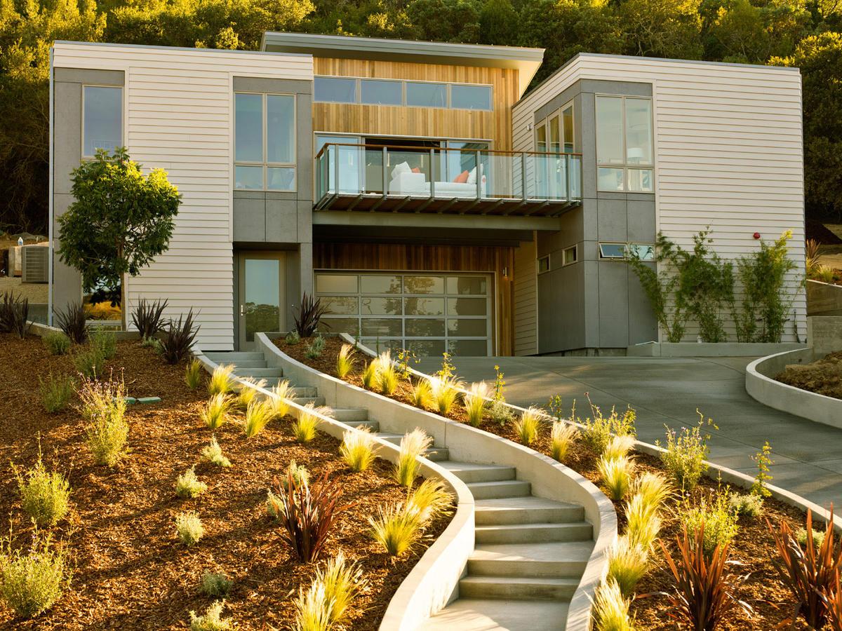 Sunset idea house breezehouse healdsburg ca sunset magazine