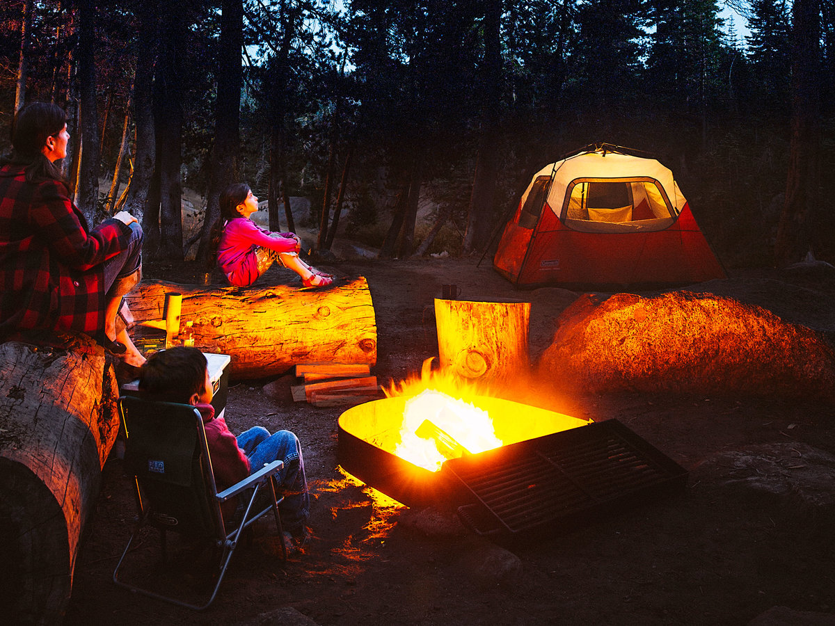 top family campgrounds sunset magazine. Black Bedroom Furniture Sets. Home Design Ideas