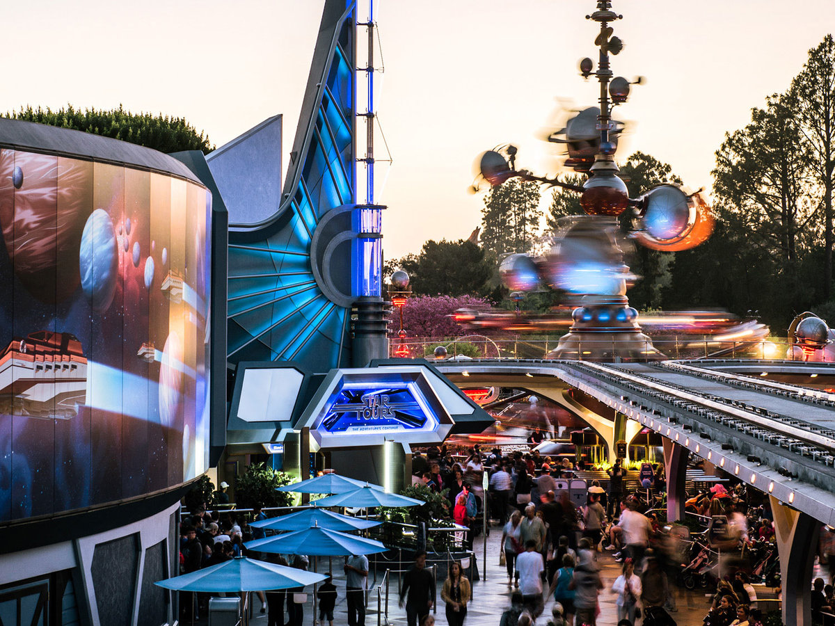 Tomorrowland Star Tours