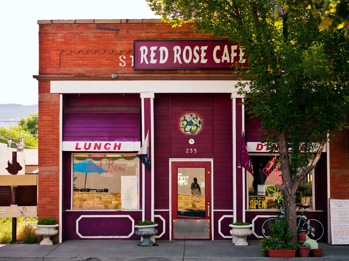 Grand Valley, CO: Red Rose Cafe