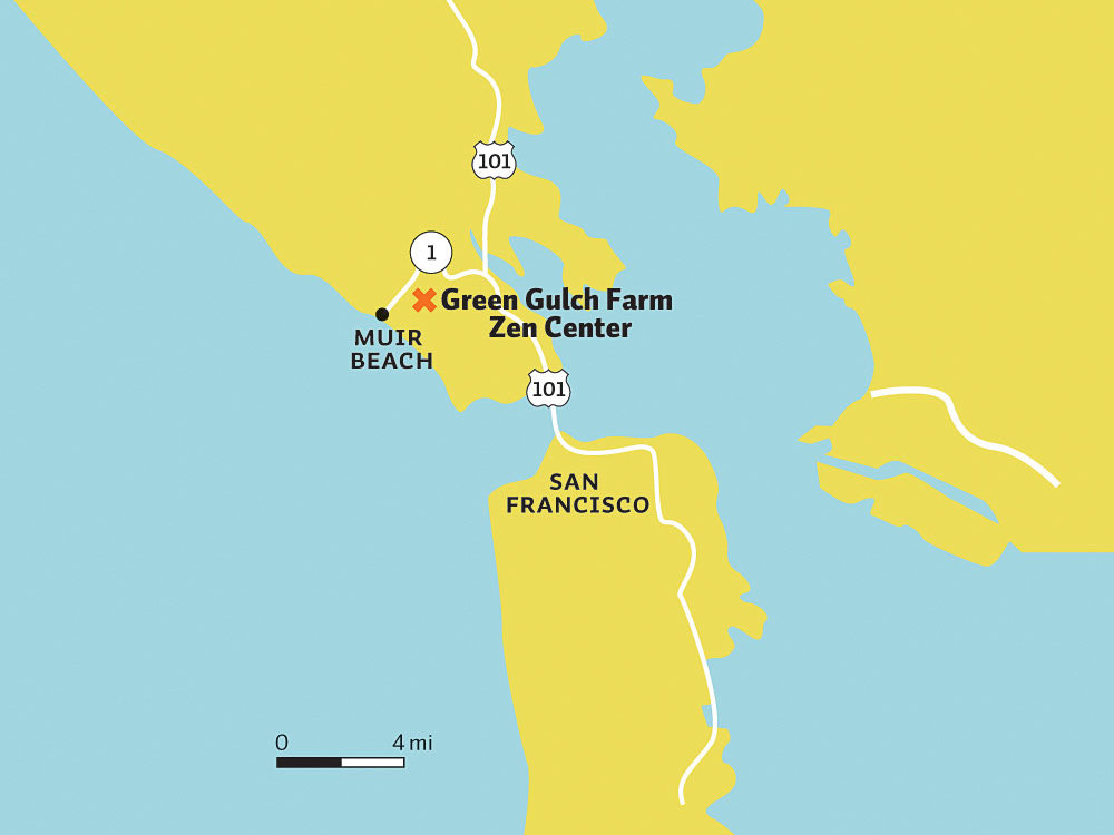 Marin area map