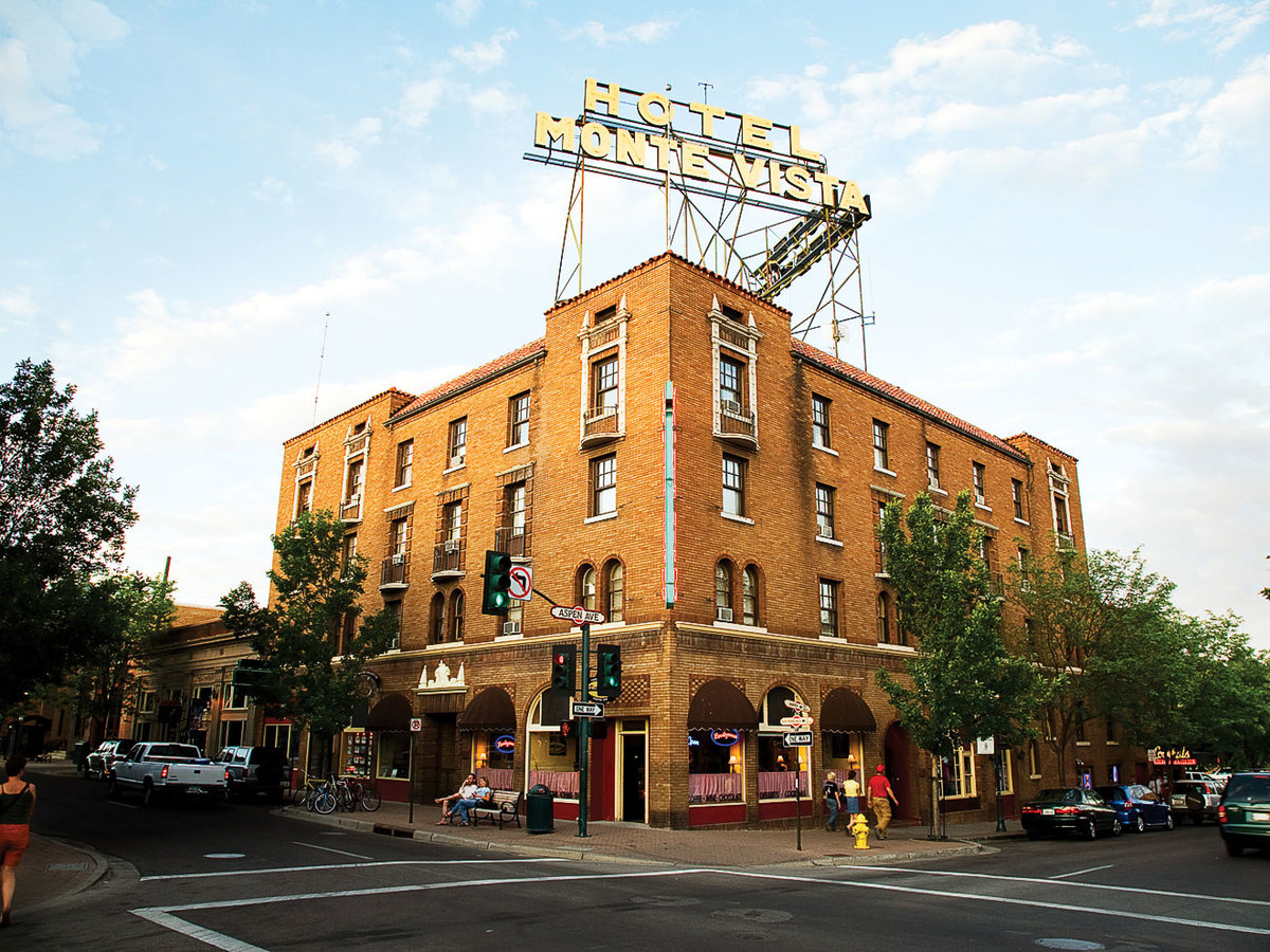 Hotel Monte Vista in Flagstaff Arizona