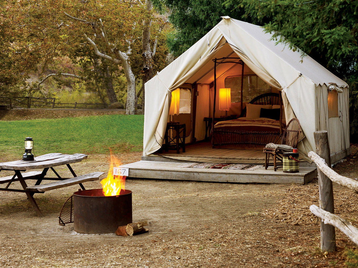 El Capitan Canyon & Top 11 Modern Glampgrounds - Sunset Magazine - Sunset Magazine