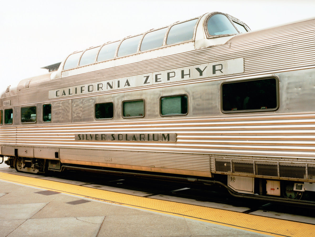Restored Zephyr Train Car