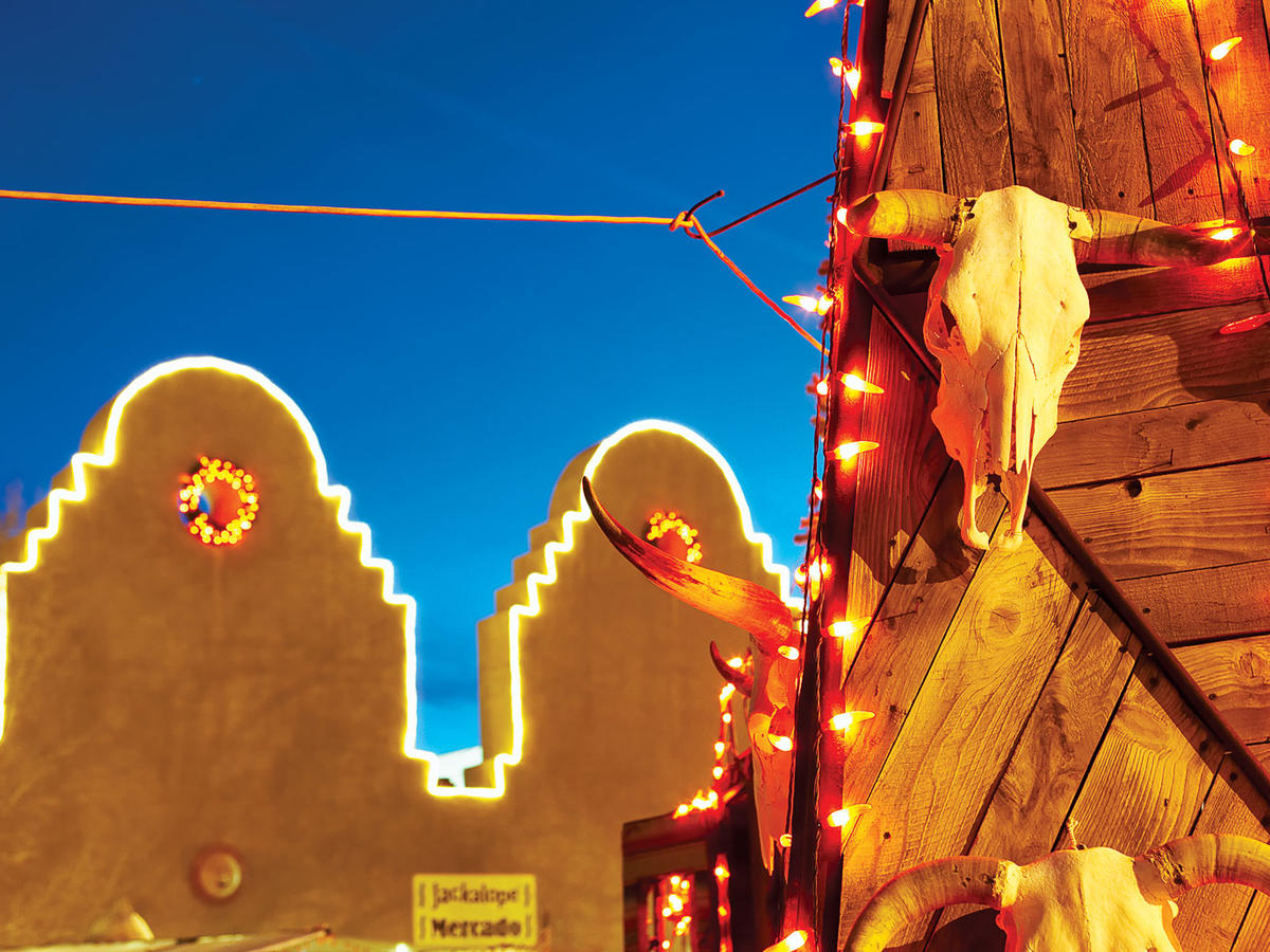 Christmas In Santa Fe Sunset Magazine